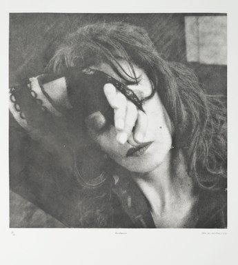 Tracey Moffatt (Australian, born 1960). Laudanum, 1998. Photogravure, sheet: 30 1/8 x 22 3/4 in. (76.5 x 57.8 cm). Brooklyn Museum, Alfred T. White Fund, 1999.80.11. © Tracey Moffat. Courtesy of the artist and Roslyn Oxley9 Gallery, Sydney