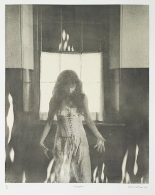 Tracey Moffatt (Australian, born 1960). Laudanum, 1998. Photogravure, sheet: 30 1/8 x 22 3/4 in. (76.5 x 57.8 cm). Brooklyn Museum, Alfred T. White Fund, 1999.80.18. © Tracey Moffat. Courtesy of the artist and Roslyn Oxley9 Gallery, Sydney