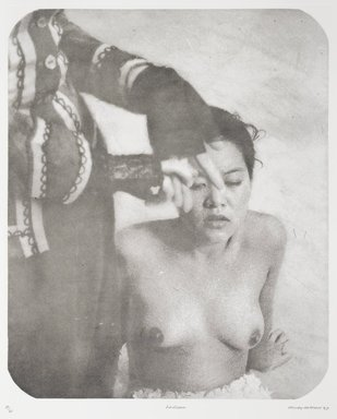 Tracey Moffatt (Australian, born 1960). Laudanum, 1998. Photogravure, sheet: 30 1/8 x 22 3/4 in. (76.5 x 57.8 cm). Brooklyn Museum, Alfred T. White Fund, 1999.80.6. © Tracey Moffat. Courtesy of the artist and Roslyn Oxley9 Gallery, Sydney
