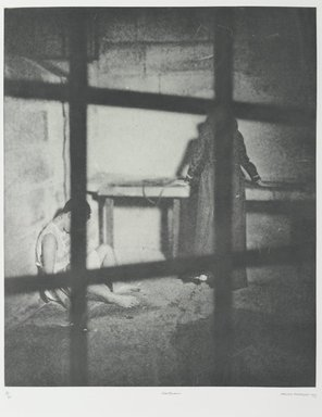 Tracey Moffatt (Australian, born 1960). Laudanum, 1998. Photogravure, sheet: 30 1/8 x 22 3/4 in. (76.5 x 57.8 cm). Brooklyn Museum, Alfred T. White Fund, 1999.80.7. © Tracey Moffat. Courtesy of the artist and Roslyn Oxley9 Gallery, Sydney