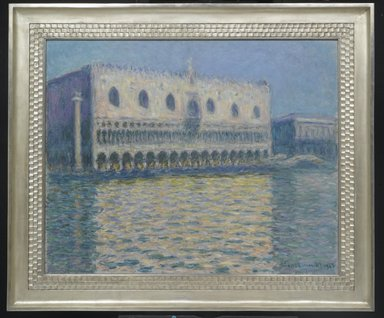 Claude Monet (French, 1840-1926). The Doge's Palace (Le Palais ducal), 1908. Oil on canvas, 32 x 39 in. (81.3 x 99.1 cm). Brooklyn Museum, Gift of A. Augustus Healy, 20.634