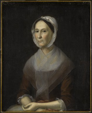 Brooklyn Museum: Portrait of Mrs. William Strachan