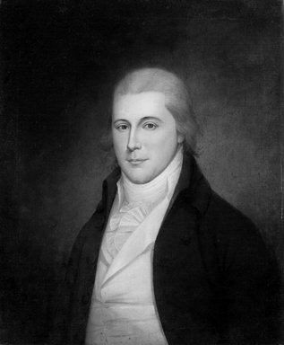 James Peale (American, 1749-1831). Richard Harwood, ca. 1795-1805. Oil on canvas, 29 3/4 x 24 3/4 in. (75.5 x 62.8 cm). Brooklyn Museum, Museum Purchase Fund, 20.639
