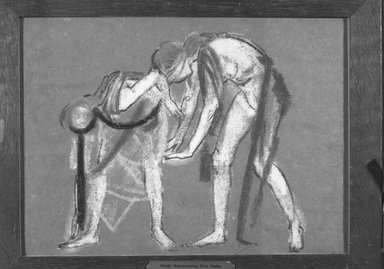 Brooklyn Museum: Study of Two Dancers