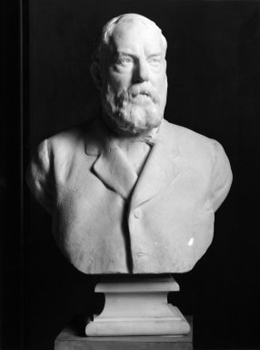Frederick William MacMonnies (American, 1863-1937). Colonel Robert B. Woodward, 1919. Marble, 40 1/8 x 24 7/16 x 16 9/16 in. (101.9 x 62.1 x 42.1 cm). Brooklyn Museum, Purchased by Special Subscription, 20.835. Creative Commons-BY