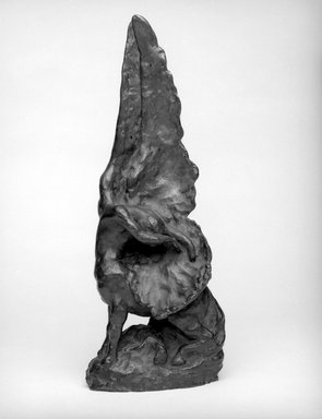 Helen Farnsworth Mears (American, 1871-1916). The Awakening, Designed 1914; Cast August 3, 1916. Bronze, 17 1/4 x 6 7/8 x 6 in. (43.8 x 17.5 x 15.2 cm). Brooklyn Museum, Gift of Mary Mears, 20.990.1. Creative Commons-BY