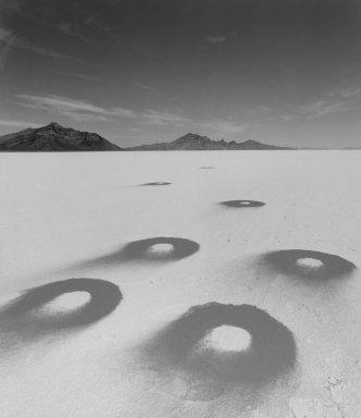 "Jean-Paul Bourdier (French, born 1950). ""LVO"" (Desert Construct), 2000. Silver dye bleach photograph, 36 x 28 5/8 in.  (91.4 x 72.7 cm). Brooklyn Museum, Gift of the artist, 2000.118. © Jean-Paul Bourdier"