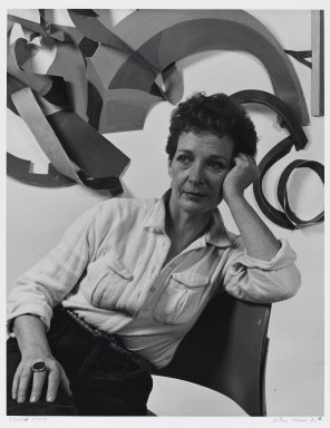 Arthur Mones (American, 1919-1998). Sylvia Stone. Gelatin silver photograph, image:  13 1/2 x 10 1/2 in.  (34.3 x 26.7 cm);. Brooklyn Museum, Gift of Wayne and Stephanie Mones at the request of their father, Arthur Mones, 2000.120.3. © Estate of Arthur Mones