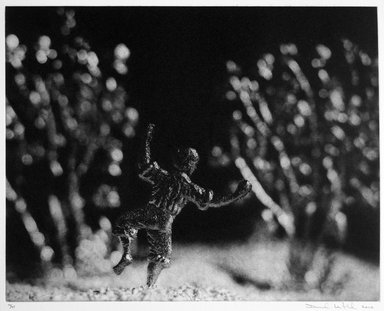 David Levinthal (American, born 1949). Dancing in the Field, October 21, 1999 - January 21, 2000. Photogravure, sheet: 17 x 20 in. (43.2 x 50.8 cm). Brooklyn Museum, Gift of Alexander Liberman, by exchange, 2000.30.8. © David Levinthal