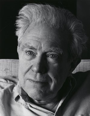 Arthur Mones (American, 1919-1998). Elliot Carter, 1983. Gelatin silver photograph, image:  13 1/2 x 10 1/2 in.  (34.3 x 26.7 cm);. Brooklyn Museum, Gift of Wayne and Stephanie Mones at the request of their father, Arthur Mones, 2000.89.12. © Estate of Arthur Mones