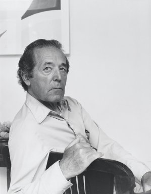 Arthur Mones (American, 1919-1998). Hassos Daphos, 1980. Gelatin silver photograph, image:  13 1/2 x 10 1/2 in.  (34.3 x 26.7 cm);. Brooklyn Museum, Gift of Wayne and Stephanie Mones at the request of their father, Arthur Mones, 2000.89.19. © Estate of Arthur Mones
