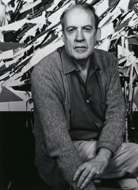 Arthur Mones (American, 1919-1998). Robert Goodnough, 1982. Gelatin silver photograph, image:  13 1/2 x 10 1/2 in.  (34.3 x 26.7 cm);. Brooklyn Museum, Gift of Wayne and Stephanie Mones at the request of their father, Arthur Mones, 2000.89.35. © Estate of Arthur Mones