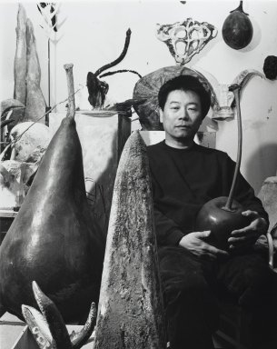 Arthur Mones (American, 1919-1998). Ming Fay, 1991. Gelatin silver photograph, image:  13 1/2 x 10 1/2 in.  (34.3 x 26.7 cm);. Brooklyn Museum, Gift of Wayne and Stephanie Mones at the request of their father, Arthur Mones, 2000.89.63. © Estate of Arthur Mones