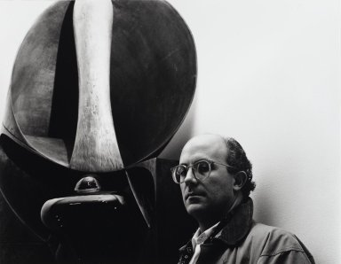 Arthur Mones (American, 1919-1998). John Newman, 1988. Gelatin silver photograph, image:  10 1/2 x 13 1/2 in.  (26.7 x 34.3 cm);. Brooklyn Museum, Gift of Wayne and Stephanie Mones at the request of their father, Arthur Mones, 2000.89.72. © Estate of Arthur Mones