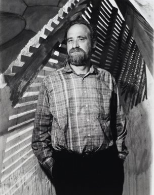 Arthur Mones (American, 1919-1998). Robert Stackhouse, 1988. Gelatin silver photograph, image:  13 1/2 x 10 1/2 in.  (34.3 x 26.7 cm);. Brooklyn Museum, Gift of Wayne and Stephanie Mones at the request of their father, Arthur Mones, 2000.89.78. © Estate of Arthur Mones