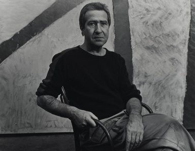 Arthur Mones (American, 1919-1998). Michael Goldberg. Gelatin silver photograph, 10 1/2 x 13 1/2 in. Brooklyn Museum, Gift of Wayne and Stephanie Mones at the request of their father, Arthur Mones, 2001.76.15. © Estate of Arthur Mones
