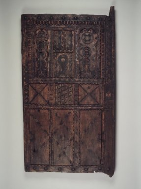 Granary Door, early 20th century. Wood, pigment, 62 1/2 x 33 1/4 x 3 3/4 in. (158.8 x 84.5 x 9.5 cm). Brooklyn Museum, Gift of Dr. Charles S. Grippi in memory of Professor Virgil H. Bird, 2001.82. Creative Commons-BY
