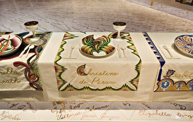 Brooklyn Museum: Christine de Pisan Place Setting