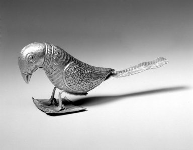 Votive Bird, late 18th-19th century. Gold, 2 1/8 x 5 in. (5.4 x 12.7 cm). Brooklyn Museum, Anonymous gift, 2002.35. Creative Commons-BY