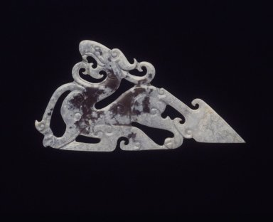 Dragon Pendant with Triangular Tail