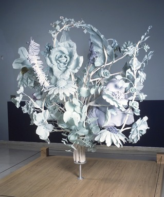 JoAnne Carson (American, born 1953). Bouquet, 2001. Thermaplastic, aqua resin, and watercolor, 105 x 84 in. (266.7 x 213.4 cm). Brooklyn Museum, Gift of the American Academy of Arts and Letters, New York; Sculpture Purchase Funds, 2002, Anonymous Donor, 2002.61. © JoAnne Carson