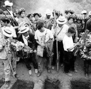 Jonathan Moller (American, born 1963). Sunday, July 29, 2001, Nebaj, Quiche, Guatemala, 2001. Gelatin silver photograph, Sheet: 19 7/8 x 16 in. (50.5 x 40.6 cm). Brooklyn Museum, Gift of the artist, 2002.84.3. © Jonathan Moller