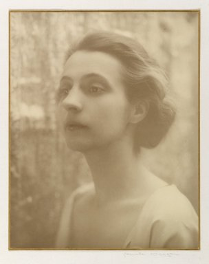 Consuelo Kanaga (American, 1894-1978). Alice Rohrer, 1920s. Gelatin silver photograph, Sheet: 10 x 7 3/4 in. (25.4 x 19.7 cm). Brooklyn Museum, Gift of David and Marcia Raymond in memory of Paul Raymond