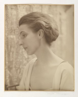 Consuelo Kanaga (American, 1894-1978). Alice Rohrer, 1920s. Gold toned gelatin silver photograph, Sheet: 10 x 7 3/4 in. (25.4 x 19.7 cm). Brooklyn Museum, Gift of David and Marcia Raymond in memory of Paul Raymond , 2002.85.2