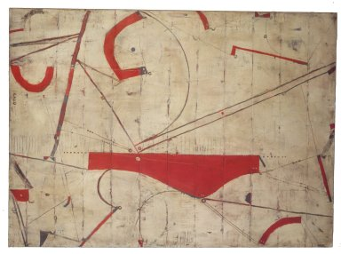 Caio Fonseca (American, born 1959). Tenth Street #33, 1993. Acrylic on canvas, 72 x 52 in. (182.9 x 132.1 cm). Brooklyn Museum, Gift of Harry Kahn, 2002.90. © Caio Fonseca