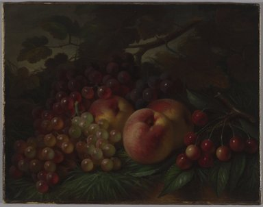 Brooklyn Museum: Peaches, Grapes and Cherries