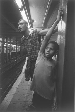 Jeffrey Ladd (American, born 1968). New York City, 1995. Gelatin silver photograph, Sheet: 19 15/16 x 15 7/8 in. (50.6 x 40.3 cm). Brooklyn Museum, Gift of the artist, 2003.23.5. © Jeffrey Ladd