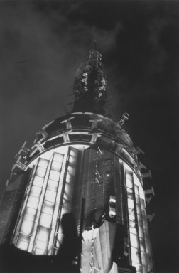 Helen K. Garber (American, born 1954). Empire State Radio Tower, 1997. Selenium-toned gelatin silver photograph, Sheet: 16 x 20 in. (40.6 x 50.8 cm). Brooklyn Museum, Gift of the Pikitch and Zwickler families in memory of Benjamin Pikitch, 2003.25. © Helen K. Garber