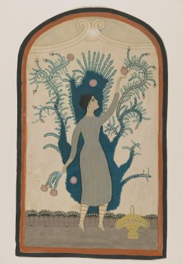 Brooklyn Museum: [Untitled] (Standing Woman Reaching for a Flower)