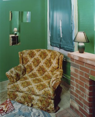 Alec Soth (American, born 1969). Sugar's, Davenport, IA, 2002. Chromogenic photograph on resin-coated paper, 50 x 40 in. (127 x 101.6 cm). Brooklyn Museum, Gift of Kenneth H. Schweber, 2004.69. © artist or artist's estate