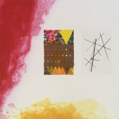 Richard Tuttle (American, born 1941). Label 4, 2002. Etching with aquatint, spit bite, sugarlift, drypoint and fabric colle, 16 x 16 in. (40.6 x 40.6 cm). Brooklyn Museum, Emily Winthrop Miles Fund, 2003.89.4. © Richard Tuttle, courtesy Pace Gallery