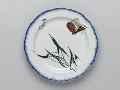 Félix Bracquemond (French, 1833-1914). Plate, 1866. Glazed earthenware, Height: 1 in.; diameter: 9 5/8  in. (2.5 x 24.4 cm). Brooklyn Museum, Gift of H. Blairman & Sons Ltd., 2005.62. Creative Commons-BY