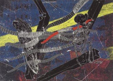 Kiki Smith (American, born Germany, 1954). Untitled (Firmament 3), 2004. Pigment print, 16 3/16 x 21 in. (41.1 x 53.3 cm). Brooklyn Museum, Alfred T. White Fund, 2005.7.3. © Kiki Smith