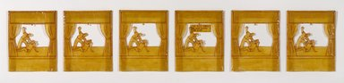 Ida Applebroog (American, born 1929). Sweet Smell of Sage Enters the Room, 1979. Ink on vellum paper coated with Rhoplex, Frame: 17 x 68 in. (43.2 x 172.7 cm). Brooklyn Museum, Gift of Monique Knowlton, New York, 2005.72a-f. © Ida Applebroog