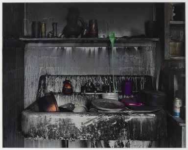 Mitch Epstein (American, born 1952). Apartment 304, 398 Main Street, 2001. Chromogenic photograph, 50 x 60 in. (127 x 152.4 cm). Brooklyn Museum, Gift of Richard J. Kempe, by exchange, 2009.56.2. © Mitch Epstein