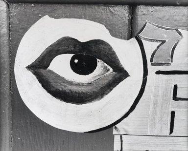 Nathan Lerner (American, 1913-1997). Eye-7, 1973. Gelatin silver photograph, Sheet: 8 x 10 in. (20.3 x 25.4 cm). Brooklyn Museum, Gift of Kiyoko Lerner, 2011.25.15. ©Nathan Lerner