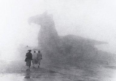 Nathan Lerner (American, 1914-1997). Rainy Day, 1981. Gelatin silver photograph, Sheet: 11 x 14 in. (27.9 x 35.6 cm). Brooklyn Museum, Gift of Kiyoko Lerner, 2011.25.30. ©Nathan Lerner