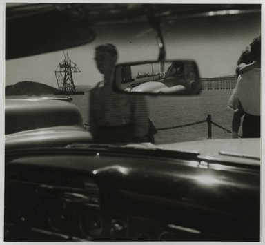 Nathan Lerner (American, 1914-1997). San Raphael Ferry, 1936-1937, printed later. Gelatin silver photograph mounted on board, Mat: 16 7/8 x 13 7/8 in. (42.9 x 35.2 cm). Brooklyn Museum, Gift of Kiyoko Lerner, 2011.25.38. ©Nathan Lerner
