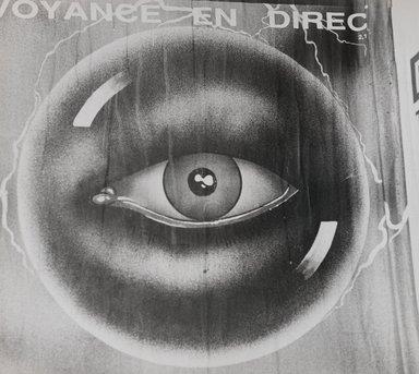 Nathan Lerner (American, 1914-1997). [Untitled] (Eyeball), n.d. Gelatin silver photograph, Sheet: 8 1/2 x 9 1/2 in. (21.6 x 24.1 cm). Brooklyn Museum, Gift of Kiyoko Lerner, 2011.25.3. ©Nathan Lerner