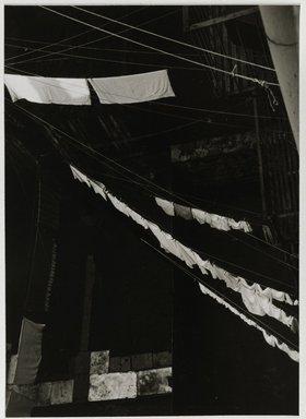 Nathan Lerner (American, 1914-1997). City Light Box Study, 1944-1945, printed later. Gelatin silver photograph mounted on board, Mat: 16 7/8 x 13 7/8 in. (42.9 x 35.2 cm). Brooklyn Museum, Gift of Kiyoko Lerner, 2011.25.40. ©Nathan Lerner