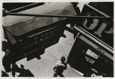 Nathan Lerner (American, 1913-1997). [Untitled], 1935, printed later. Gelatin silver photograph mounted on board, Mat: 16 7/8 x 14 in. (42.9 x 35.6 cm). Brooklyn Museum, Gift of Kiyoko Lerner, 2011.25.43. ©Nathan Lerner