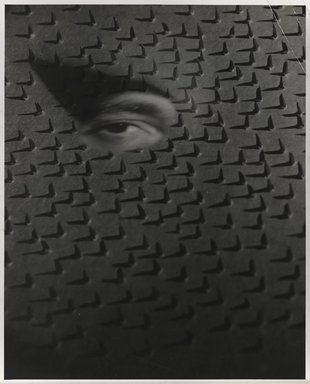 Nathan Lerner (American, 1914-1997). Eye on Nails, 1940, printed 1950's. Gelatin silver photograph, Sheet: 10 x 8 in. (25.4 x 20.3 cm). Brooklyn Museum, Gift of Kiyoko Lerner, 2011.25.51. ©Nathan Lerner