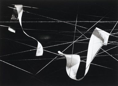 Nathan Lerner (American, 1914-1997). Paper on String, Chicago 1938, Printed 1983. Selenium-toned print, Sheet: 16 x 20 in. (40.6 x 50.8 cm). Brooklyn Museum, Gift of Kiyoko Lerner, 2011.25.73. ©Nathan Lerner