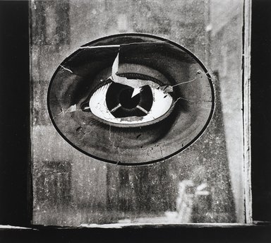 Nathan Lerner (American, 1914-1997). Eye on Window, New York 1943, Printed 1983. Selenium-toned print, Sheet: 16 x 20 in. (40.6 x 50.8 cm). Brooklyn Museum, Gift of Kiyoko Lerner, 2011.25.77. ©Nathan Lerner