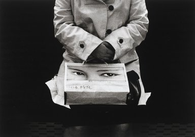 Nathan Lerner (American, 1913-1997). The Shopping Bag, Tokyo 1976, Printed 1983. Selenium-toned print, Sheet: 16 x 20 in. (40.6 x 50.8 cm). Brooklyn Museum, Gift of Kiyoko Lerner, 2011.25.79. ©Nathan Lerner