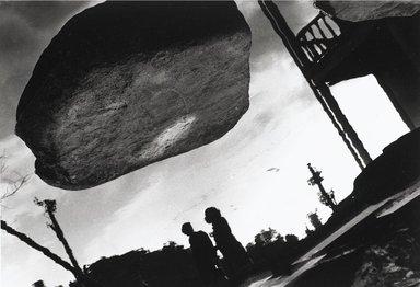 Nathan Lerner (American, 1914-1997). Stone Cloud, Nagasaki 1976, Printed 1983. Selenium-toned print, Sheet: 16 x 20 in. (40.6 x 50.8 cm). Brooklyn Museum, Gift of Kiyoko Lerner, 2011.25.80. ©Nathan Lerner